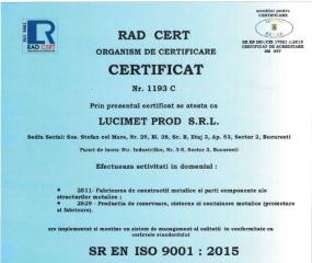 ISO9001-Lucimet